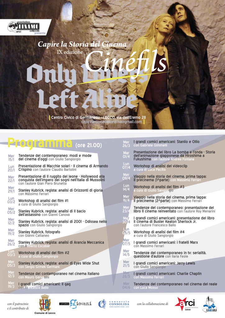 ONLY CINEFILS - LOCANDINA per stampa