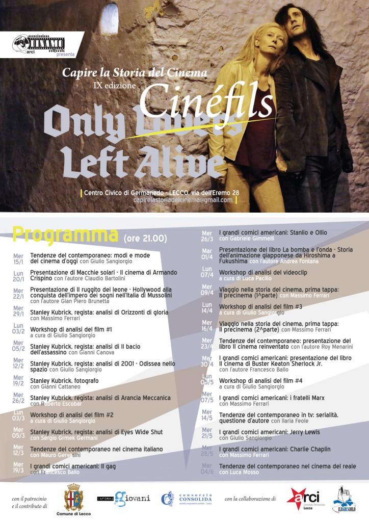ONLY CINEFILS - LOCANDINA per stampa